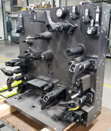Hydraulic Workholding Fixtures